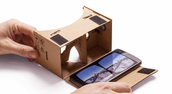 il VR di Google fatto in carbone per una massiva distruzione dato il suo basso costo.
